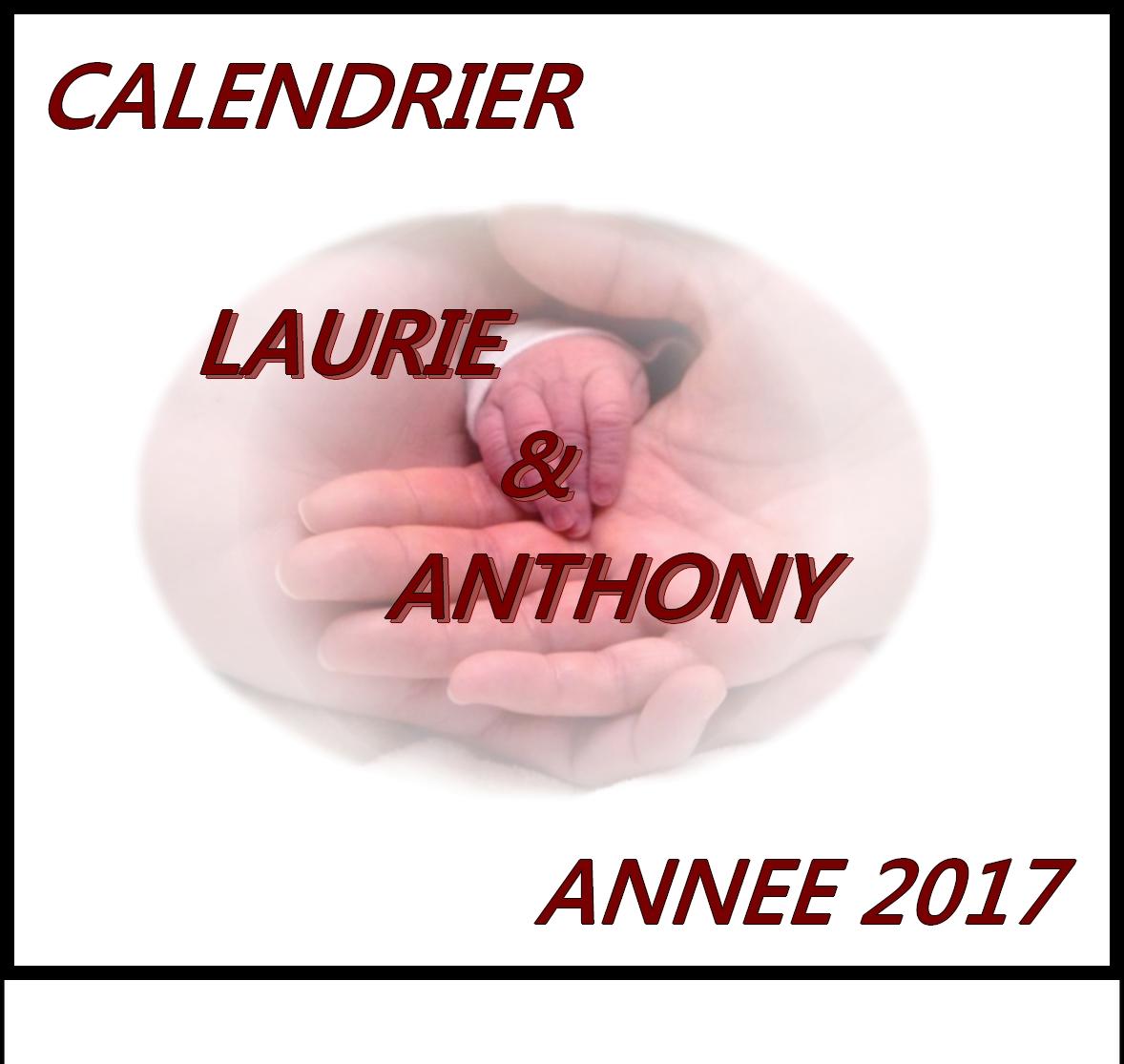 CALENDRIER 2017 CADEAU POUR LE FISTON