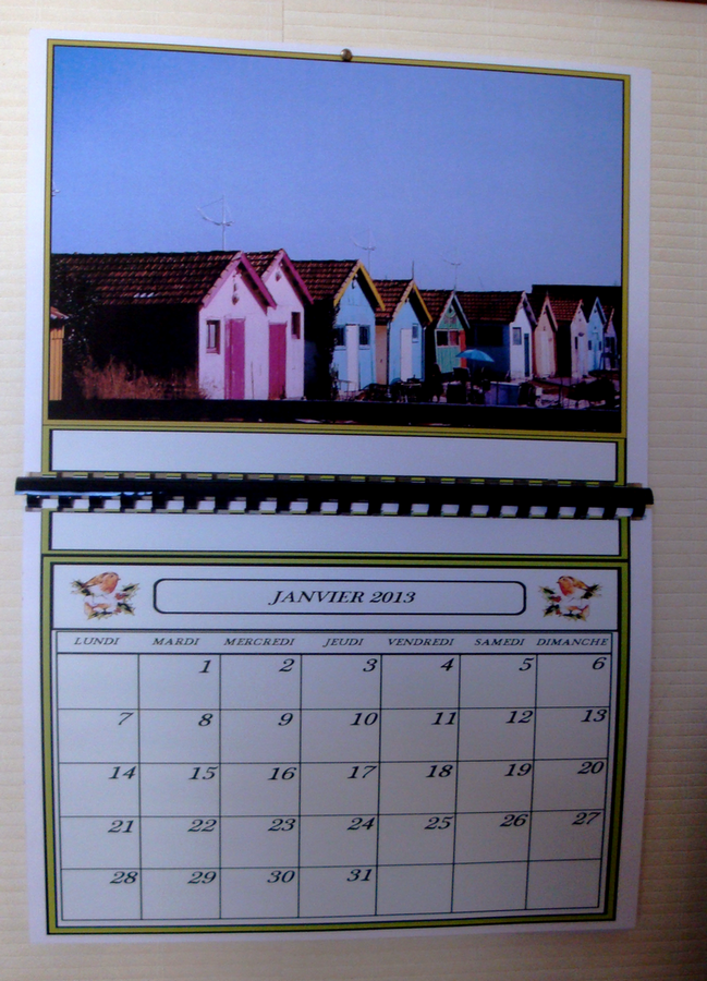CALENDRIERS  PERSONNALISES