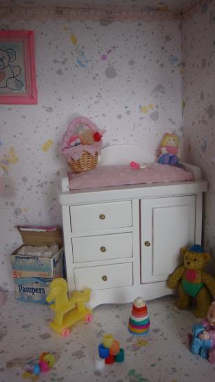 chambre de bébe le fond