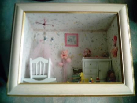 Chambre de bébé coloris blanc
