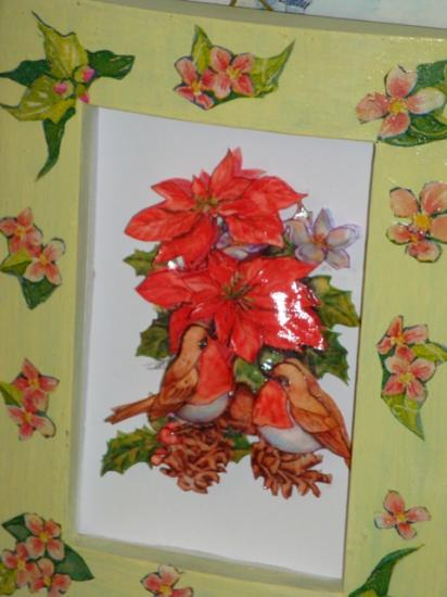 ROUGE GORGE POINSETTAS