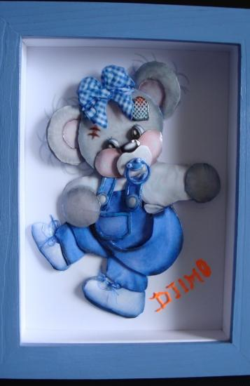 Un Joli Teddy Pour un Petit Djymo