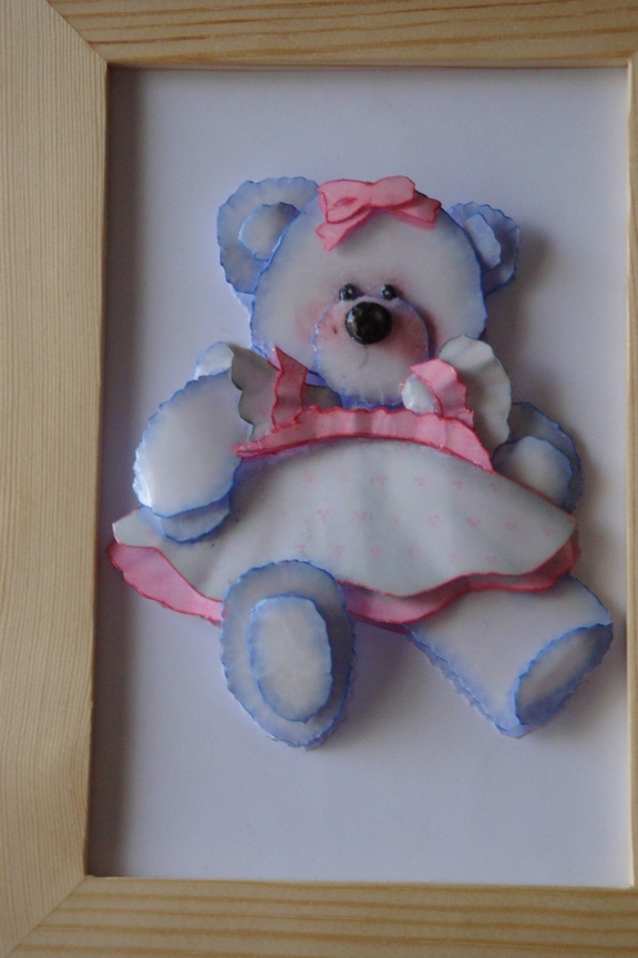 TEDDY OURS ROSE 15X21