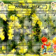 FEVRIER 2014 FOND ECRAN